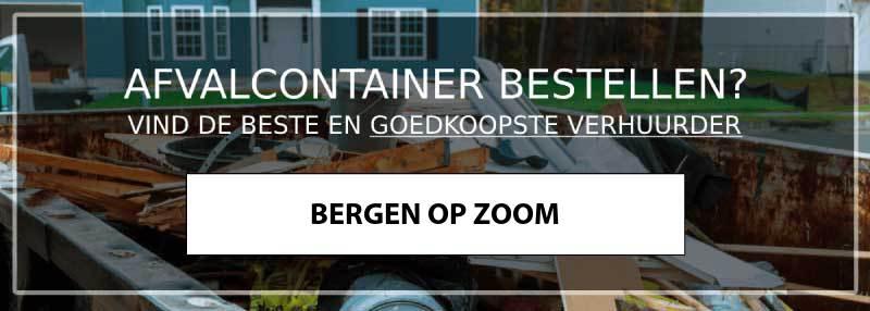 afvalcontainer bergen-op-zoom