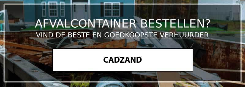 afvalcontainer cadzand