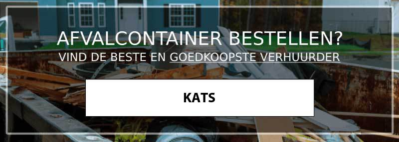 afvalcontainer kats