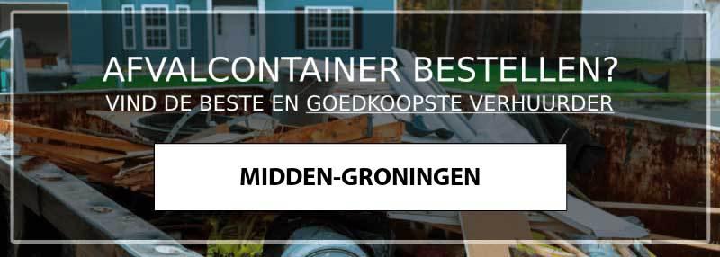 afvalcontainer midden-groningen