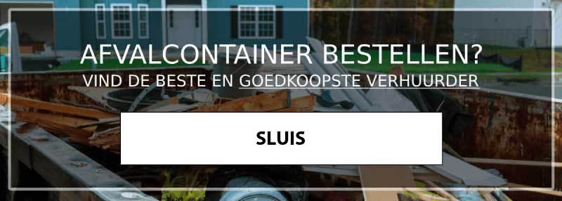 afvalcontainer sluis