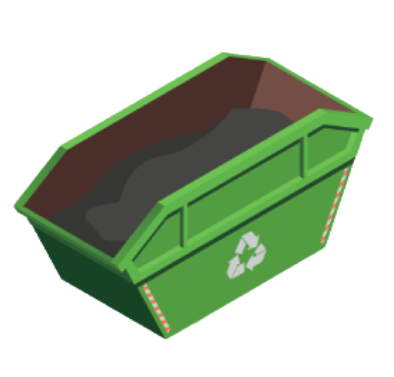 afvalcontainer icon